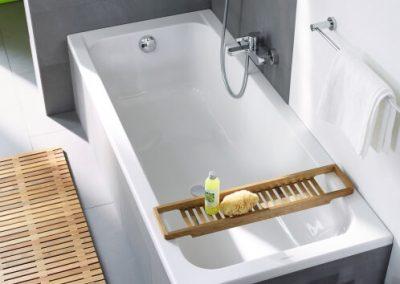 Badewanne von oben, Duravit D-code